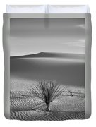 White Sands Yucca Duvet Cover