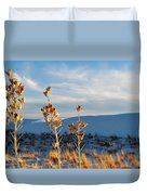 White Sands Yucca Row Duvet Cover