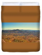 White Side Mountain Panorama Duvet Cover