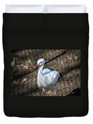 White Stork Duvet Cover