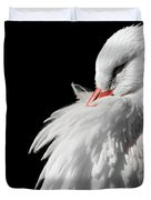 White Stork Duvet Cover by Wim Lanclus