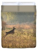 White Tail Morning Duvet Cover