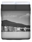 White Tower Of Thessaloniki Duvet Cover