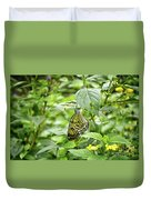 White Tree Nymph Duvet Cover