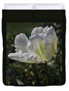 White Tulip 1 Duvet Cover