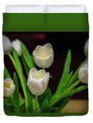 White Tulip Duvet Cover