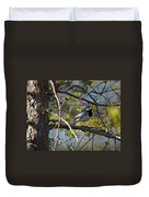 White Wagtail 2 Duvet Cover