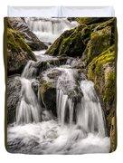 White Water Rapids Duvet Cover