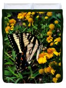 White Wing Butterfly Duvet Cover