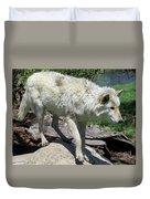 White Wolf 1 Duvet Cover
