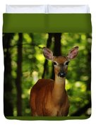 Whitetail Doe Duvet Cover