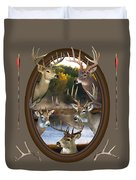 Whitetail Dreams Duvet Cover by Shane Bechler