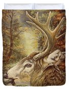 Whitetail Hideaway Duvet Cover