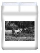 Whitetailed Deers Duvet Cover