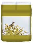Whitethroat  Duvet Cover