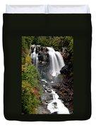 Whitewater Falls - Nc Duvet Cover