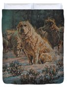 Who Goes There Duvet Cover