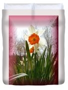 Who Planted Those Flowers Duvet Cover