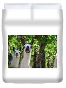 Who You? Duvet Cover