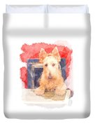 Whos That Dog In The Window? Duvet Cover