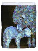 Whose Little Lamb Are You? Duvet Cover