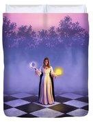 Wiccan Dawn Duvet Cover