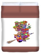 Martin-hardy-witches Duvet Cover