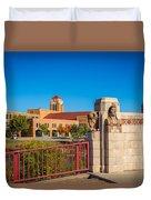 Wichita Bridge #1 Duvet Cover