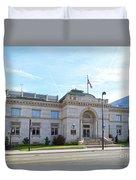 Wichita Carnegie Library Duvet Cover