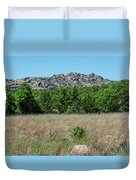 Wichita Mountains Wildlife Refuge - Oklahoma Duvet Cover