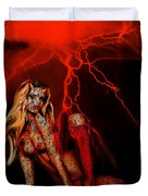 Wicked Beauty Duvet Cover