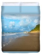 Wide Beach And Nature Duvet Cover