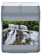Wide Flowing Falls Duvet Cover
