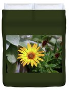 Wide Open In Bloom  Duvet Cover