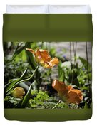 Wide Open Tulips Duvet Cover