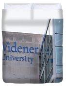 Widener University - Metropoliton Hall Duvet Cover