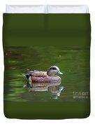 Widgeon Duck Duvet Cover