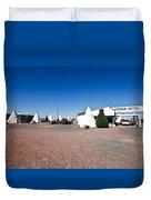 Wigwam Motel #2 Duvet Cover