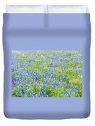 Wild About Wildflowers Of Texas. Duvet Cover
