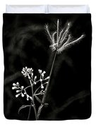 Wild And Beautiful B/w Duvet Cover