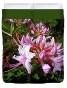 Wild And Native Pink Azalea Duvet Cover
