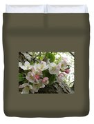 Wild Apple Blossoms Duvet Cover