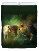 Wild Attraction Duvet Cover