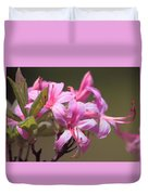Wild Azaleas Duvet Cover
