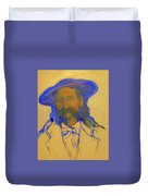 Wild Bill Hickok Duvet Cover by Johanna Elik
