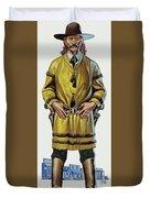 Wild Bill Hickok Duvet Cover