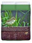 Wild Bird In A Natural Habitat.  Duvet Cover