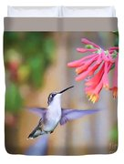 Wild Birds - Hummingbird Art Duvet Cover