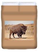 Wild Bison Duvet Cover