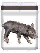 Wild Black Piglet Duvet Cover